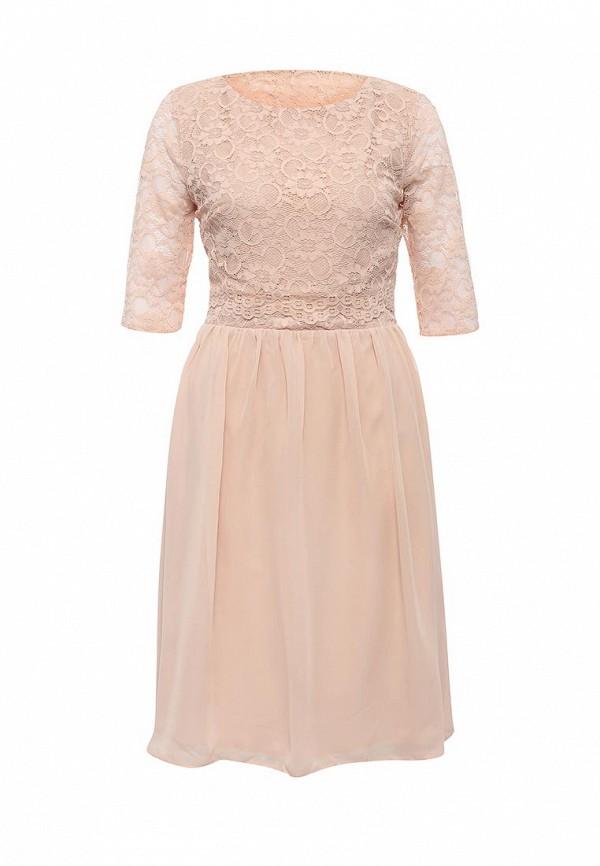 Платье-миди LOST INK. (ЛОСТ ИНК.) FW16LIW1502050201