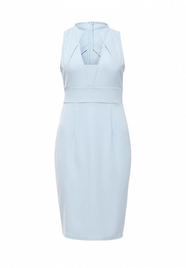 Купить женское платье LOST INK голубого цвета