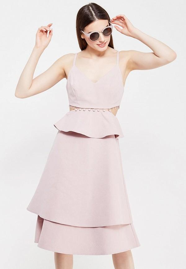 Платье LOST INK LOST INK LO019EWTTD48  корсет розовый 019 48