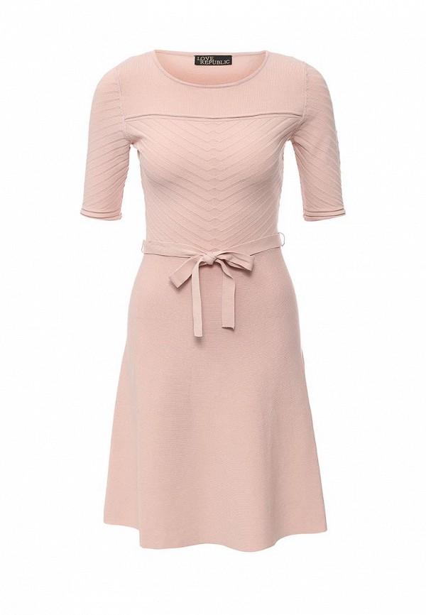 Вязаное платье Love Republic 615229512