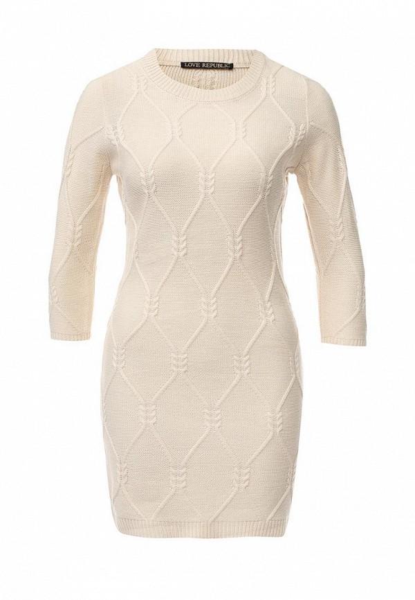 Вязаное платье Love Republic 645040501