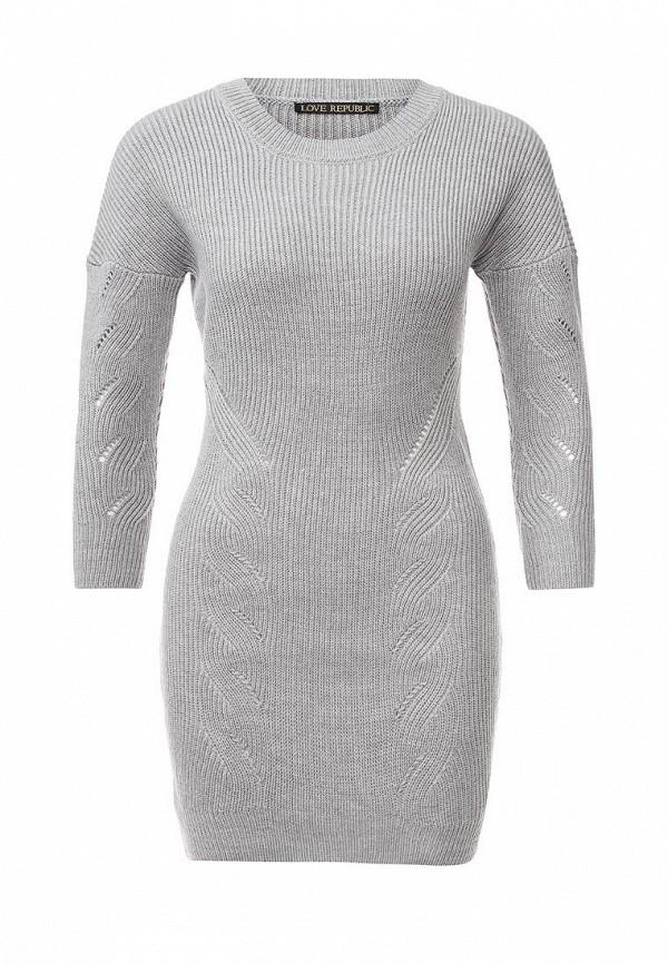 Вязаное платье Love Republic 645055505