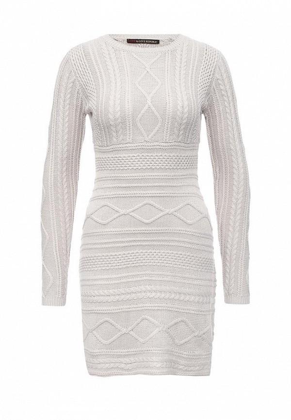 Вязаное платье Love Republic 645135521