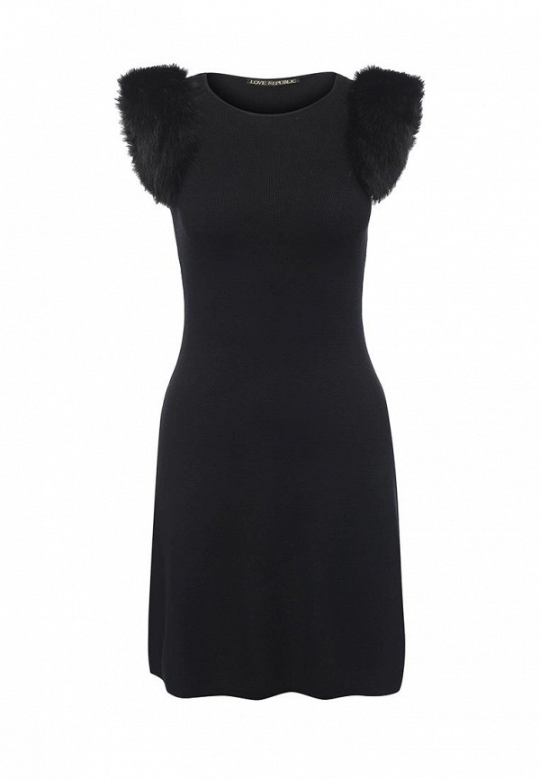 Вязаное платье Love Republic 645140523