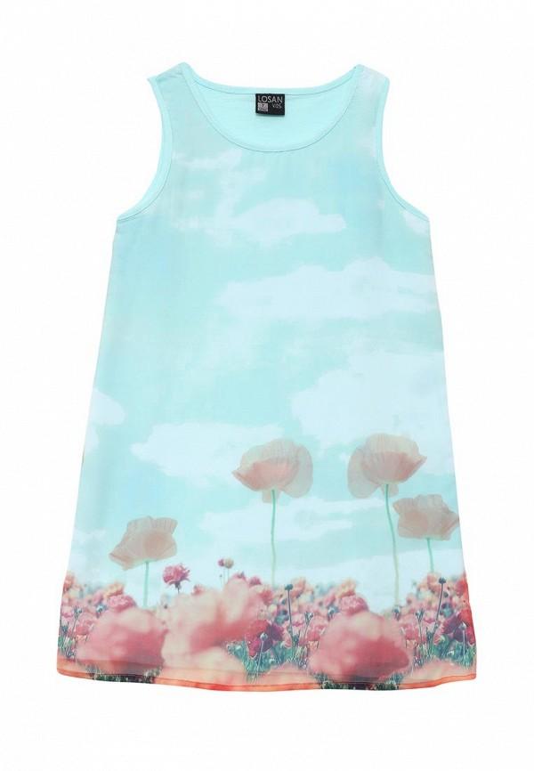 Повседневное платье Losan 616-7070AD