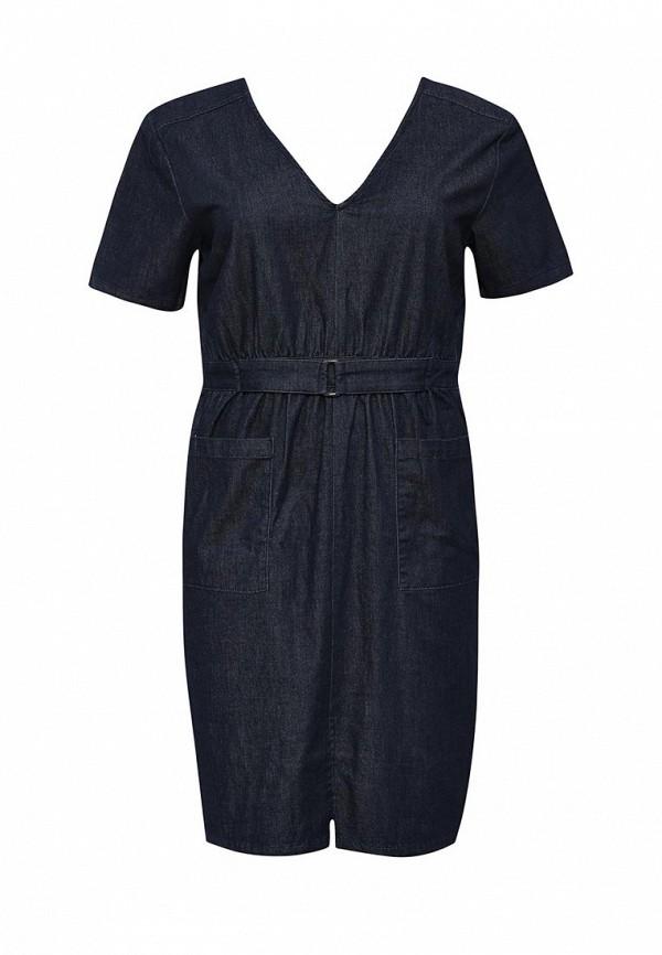 цена Платье джинсовое LOST INK CURVE LOST INK CURVE LO030EWJZY50 онлайн в 2017 году