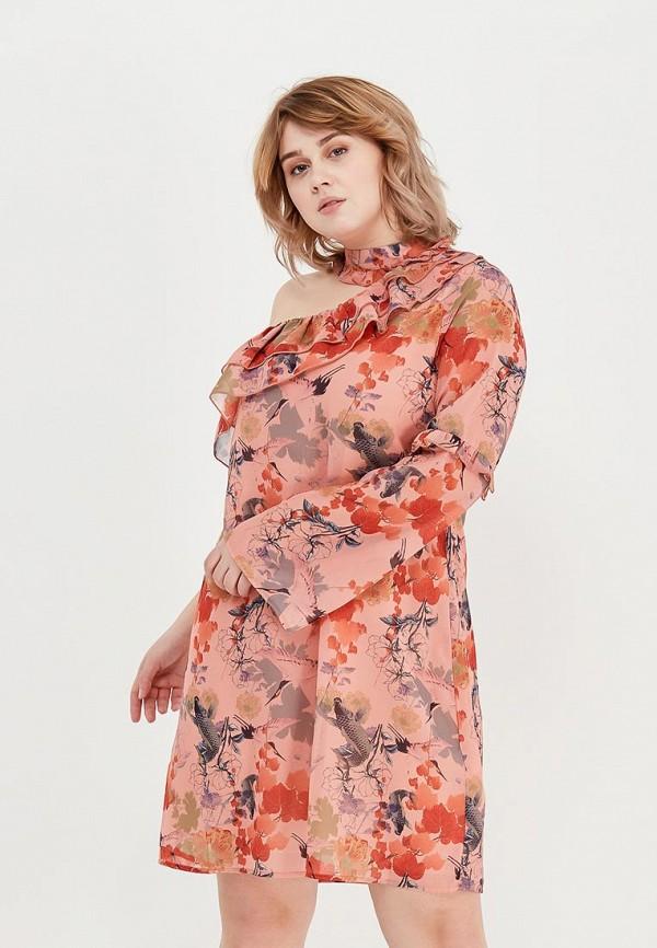 Платье LOST INK PLUS LOST INK PLUS LO035EWAGKF8 платье lost ink plus lost ink plus lo035ewzcu43