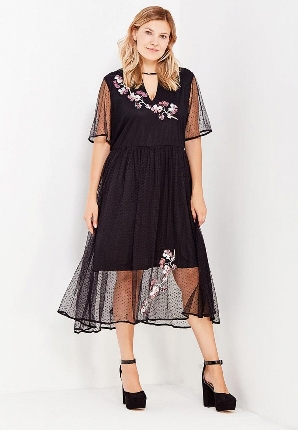 Платье LOST INK PLUS LOST INK PLUS LO035EWWGJ39 платье lost ink lost ink lo019ewogh28