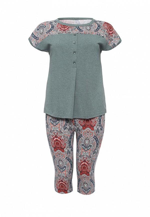 Комплект капри и футболка Лори Лори LO037EWPDW41 брюки домашние лори лори lo037ewxpu59