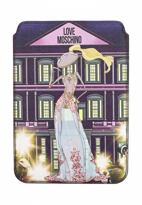 Чехол для iPad Love Moschino Love Moschino LO416BWJDX81  love moschino шорты love moschino cf w o 068 00 t 7757 y13 голубой