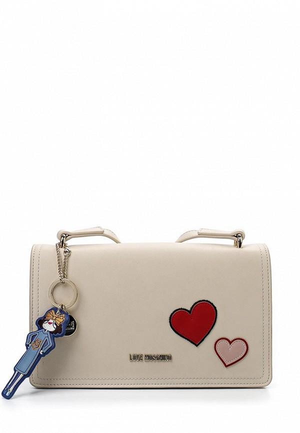 Сумка Love Moschino Love Moschino LO416BWUAH60  love moschino шорты love moschino cf w o 068 00 t 7757 y13 голубой