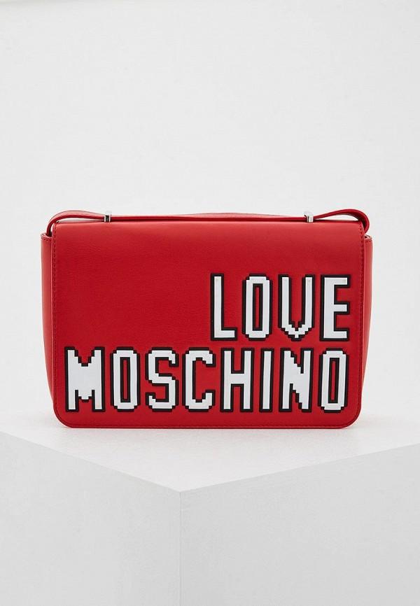 Сумка Love Moschino Love Moschino LO416BWYPJ55 сумка love moschino love moschino lo416bwuah74