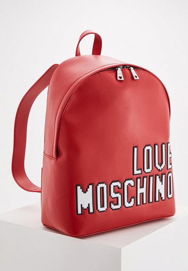 лонгслив love moschino love moschino lo416emukw36 Рюкзак Love Moschino Love Moschino LO416BWYPJ57