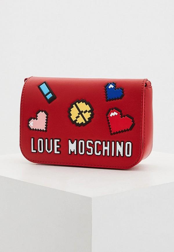 Сумка Love Moschino Love Moschino LO416BWYPJ59 сумка love moschino jc4275pp04ki200b