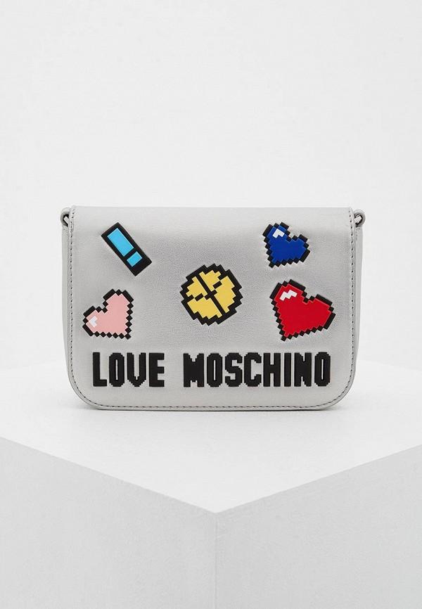 Сумка Love Moschino Love Moschino LO416BWYPJ60 сумка love moschino jc4275pp04ki200b