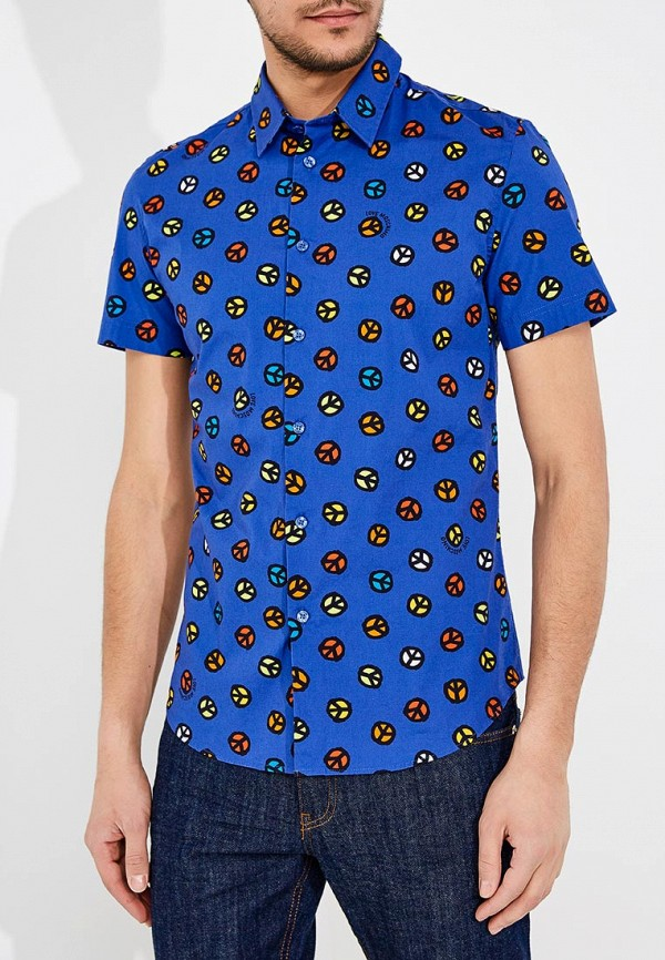 цена Рубашка Love Moschino Love Moschino LO416EMANSF3 онлайн в 2017 году