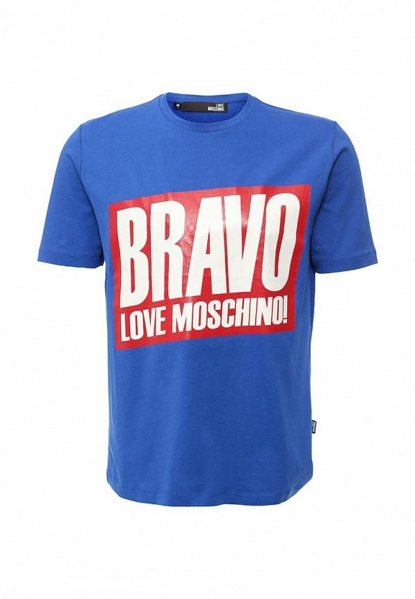 Футболка с надписями Love Moschino M 4 717 07 M 3517
