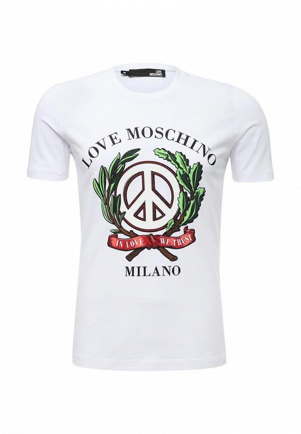 Футболка Love Moschino Love Moschino LO416EMUKW32  love moschino шорты love moschino cf w o 068 00 t 7757 y13 голубой
