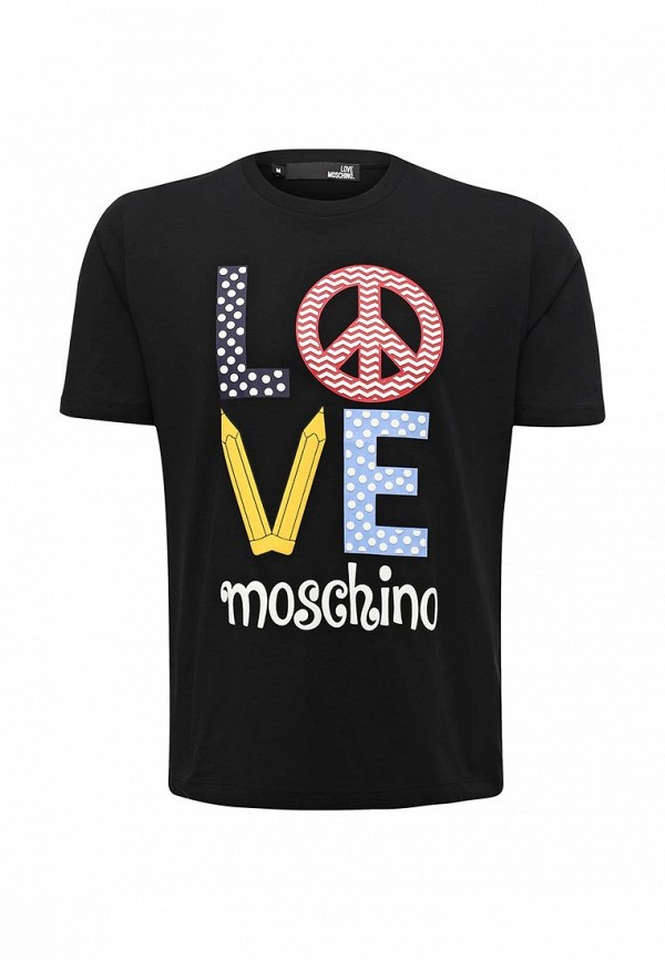Футболка Love Moschino Love Moschino LO416EMUKW35 moschino mw0413 moschino