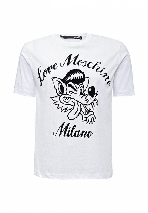 Футболка Love Moschino Love Moschino LO416EMUUW55 moschino mw0413 moschino