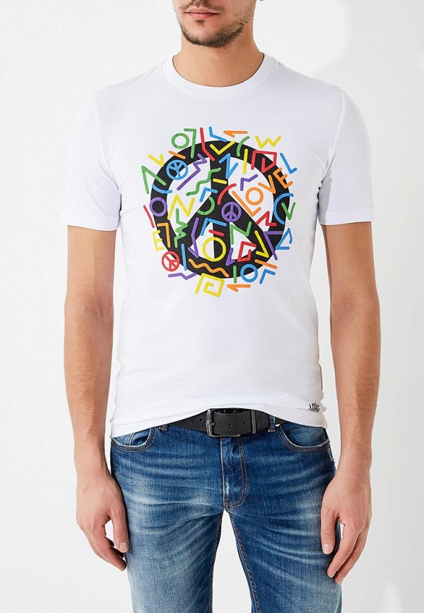 Футболка Love Moschino Love Moschino LO416EMYPV36 футболка love moschino love moschino lo416ewypt14