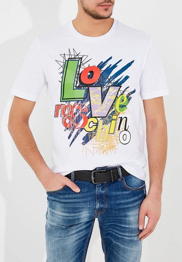 Фото Футболка Love Moschino. Купить с доставкой