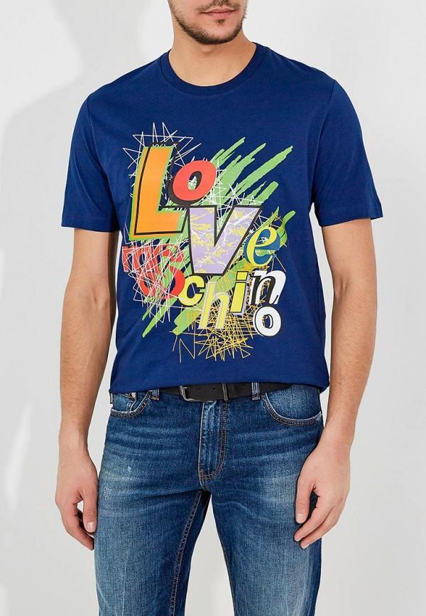 цена Футболка Love Moschino Love Moschino LO416EMYPV38 онлайн в 2017 году