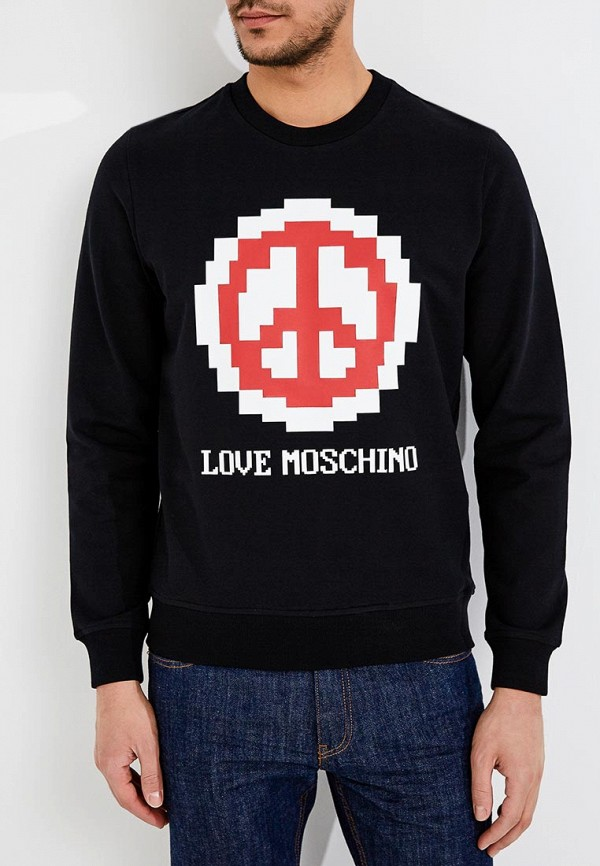 Свитшот Love Moschino Love Moschino LO416EMYPV44 свитшот love moschino love moschino lo416ewaevl8