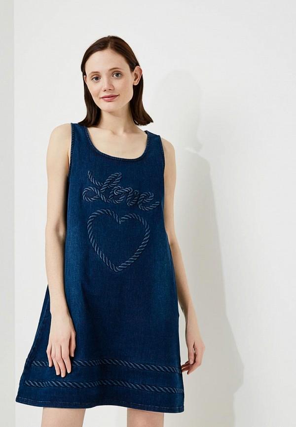Платье джинсовое Love Moschino Love Moschino LO416EWAEVK6 moschino g15060385759 page 6