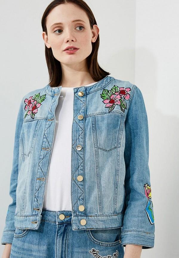 цены на Куртка джинсовая Love Moschino Love Moschino LO416EWAEVL9 в интернет-магазинах