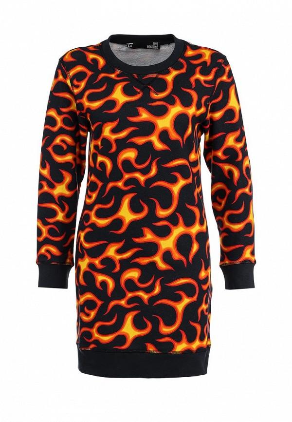 Платье-мини Love Moschino W578100M35180003