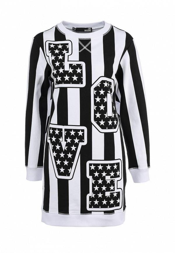 Платье-мини Love Moschino W578101M3478A00