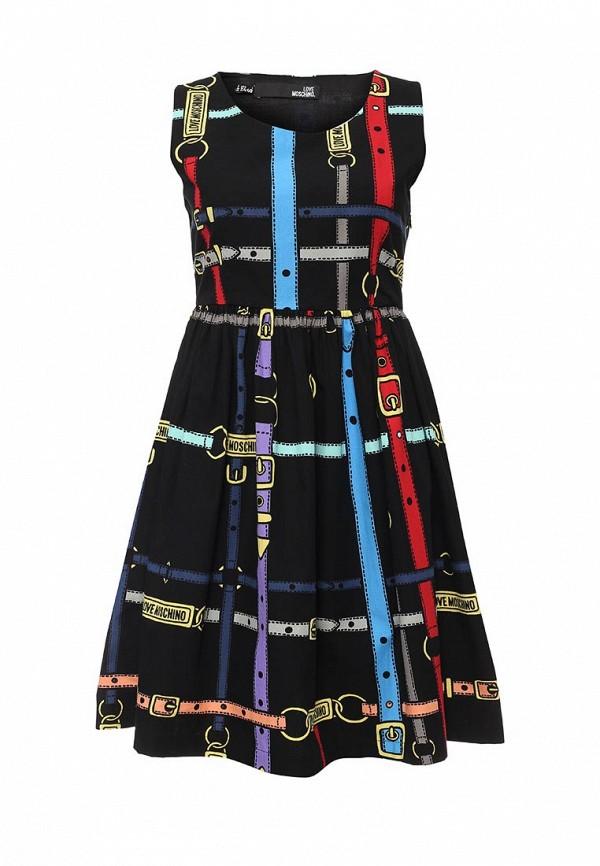 Платье-миди Love Moschino W V E74 00 T 8372