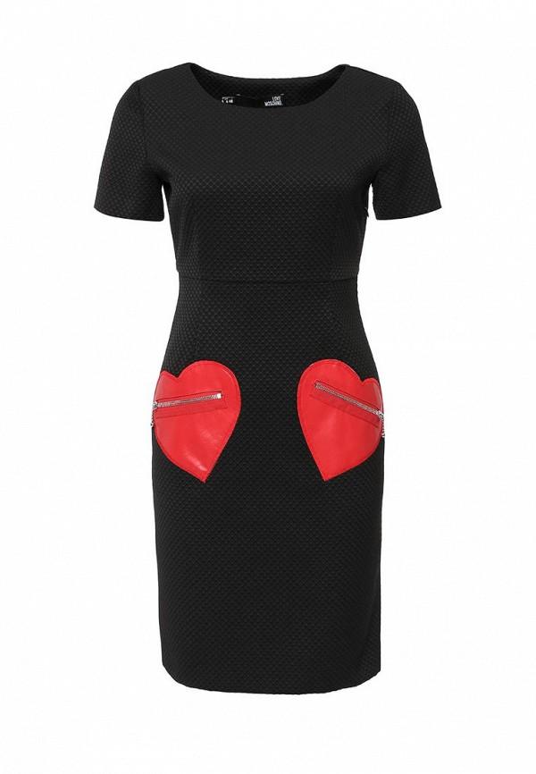 Платье-миди Love Moschino W V E46 00 T 8320