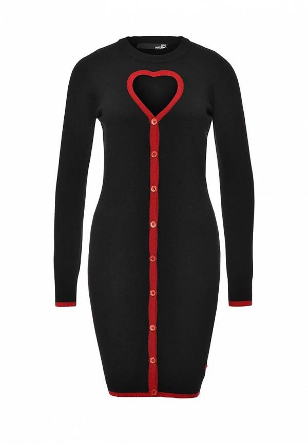 Вязаное платье Love Moschino W S S95 00 X 0683