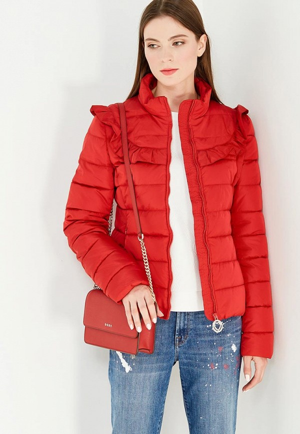цены на Куртка утепленная Love Moschino Love Moschino LO416EWUKW44 в интернет-магазинах