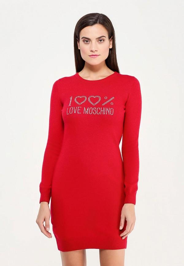 Платье Love Moschino Love Moschino LO416EWUKW54 love moschino love moschino lo416emfki68