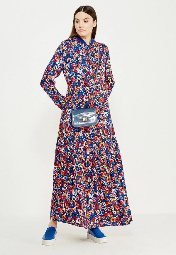 Платье Love Moschino. Цвет: разноцветный
