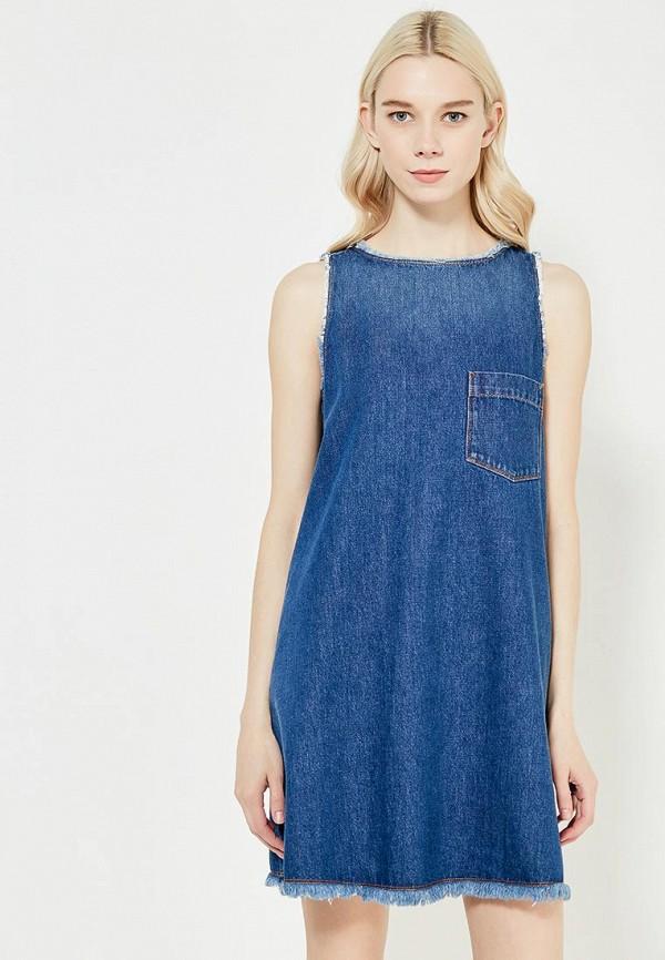 Платье джинсовое Love Moschino Love Moschino LO416EWUKW64