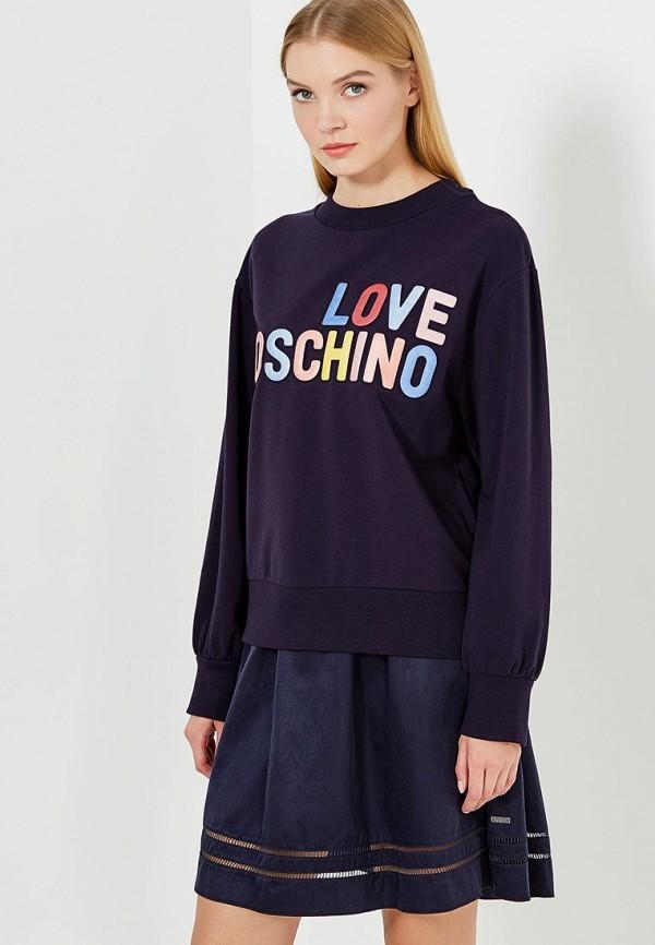 Свитшот Love Moschino Love Moschino LO416EWUKW75 moschino mw0413 moschino