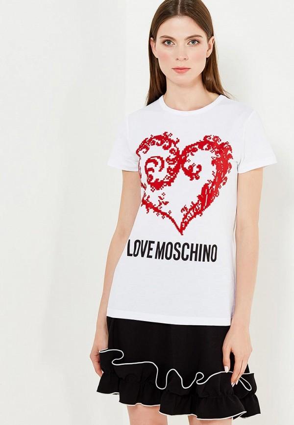 лонгслив love moschino love moschino lo416emukw36 Футболка Love Moschino Love Moschino LO416EWUKW91