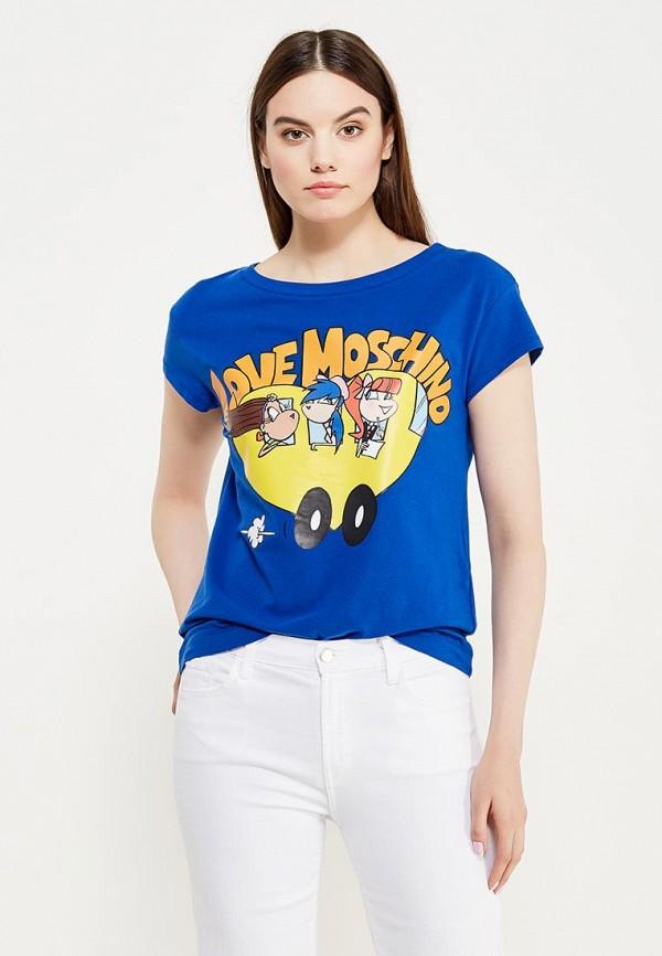 Футболка Love Moschino Love Moschino LO416EWUKX00