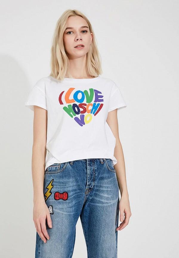 Футболка Love Moschino Love Moschino LO416EWYPT17 футболка love moschino love moschino lo416ewypt14