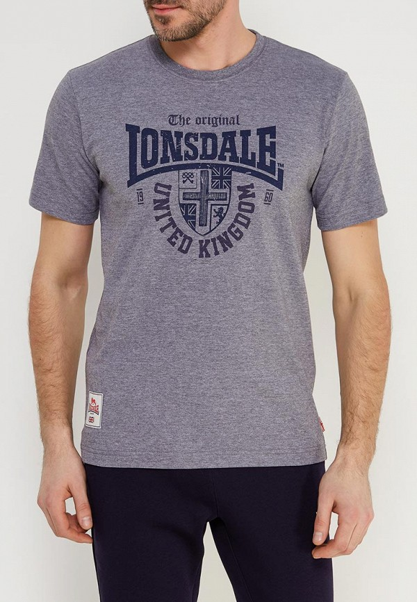 Футболка Lonsdale Lonsdale LO789EMACPD9 кеды lonsdale lonsdale lo789amsbt86