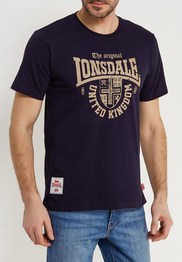 Футболка Lonsdale Lonsdale LO789EMACPE0 футболка lonsdale lonsdale lo789emuic60
