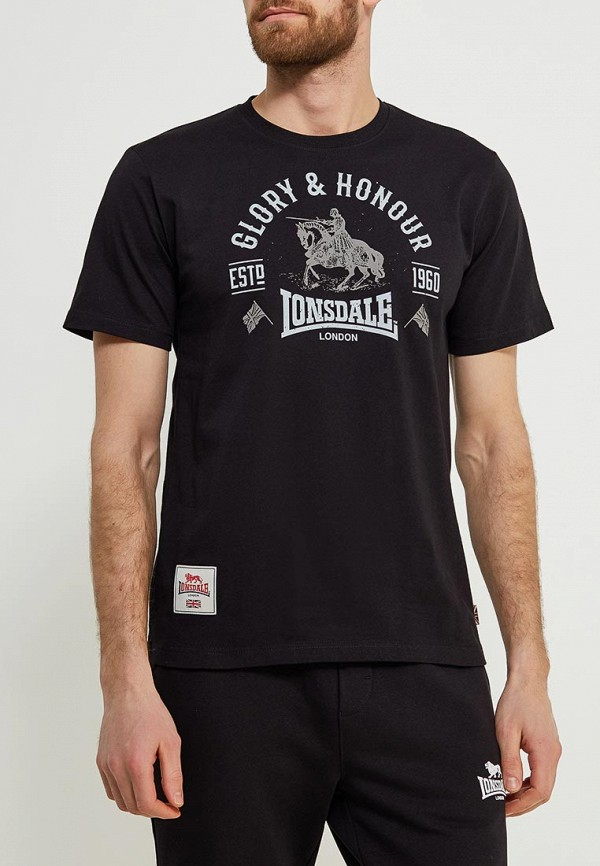 Футболка Lonsdale Lonsdale LO789EMAPKB9 футболка lonsdale lonsdale lo789emuic60
