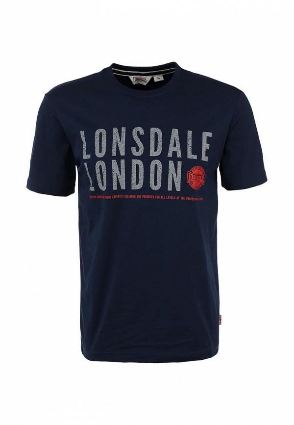 Футболка с надписями Lonsdale MTS011