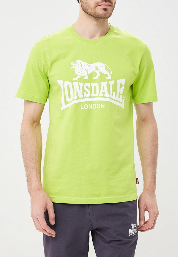Купить Футболка Lonsdale, LO789EMBIQW0, зеленый, Весна-лето 2018