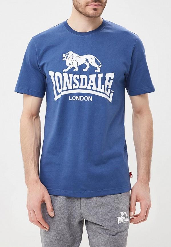 Купить Футболка Lonsdale, LO789EMBIQW2, синий, Весна-лето 2018