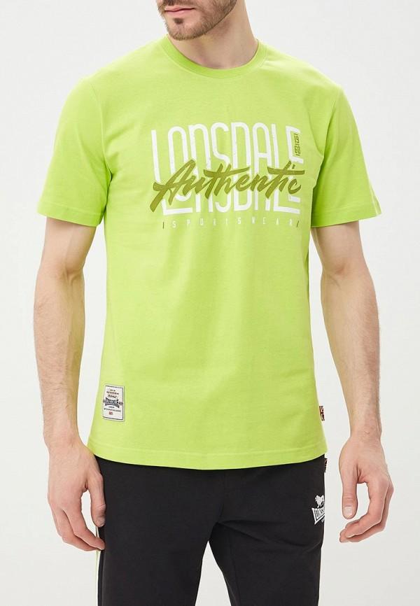 Купить Футболка Lonsdale, LO789EMBIQW5, зеленый, Весна-лето 2018